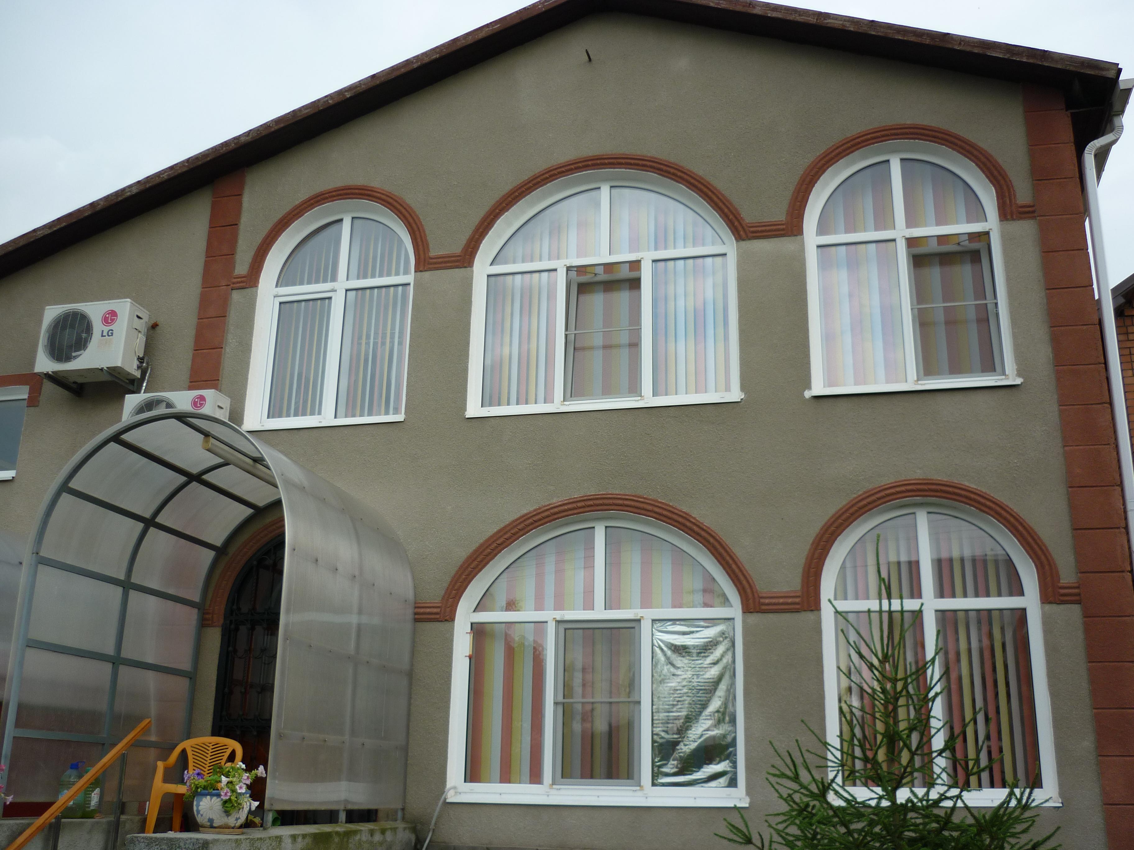 Шуба на фасад дома своими руками