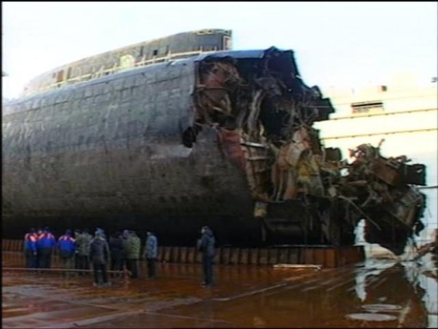 курск подводная лодка материальный ущерб