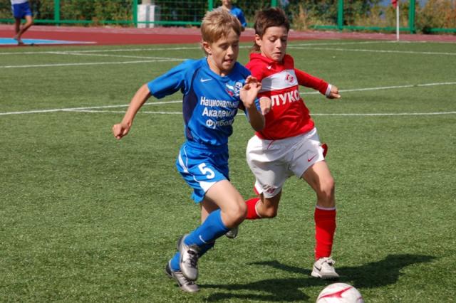 Детская футбольная лига игры в записи
