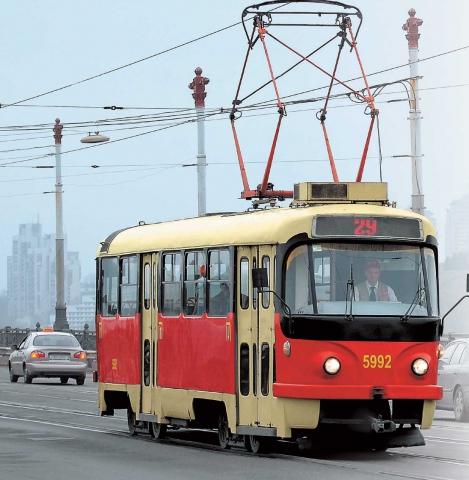 Первые электрические трамваи