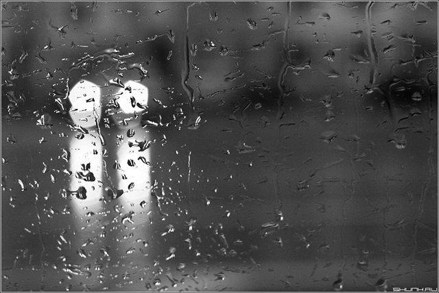 Прохладная и дождливая погода