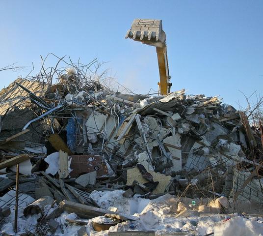 снос здания на тайнинской готовы помочь