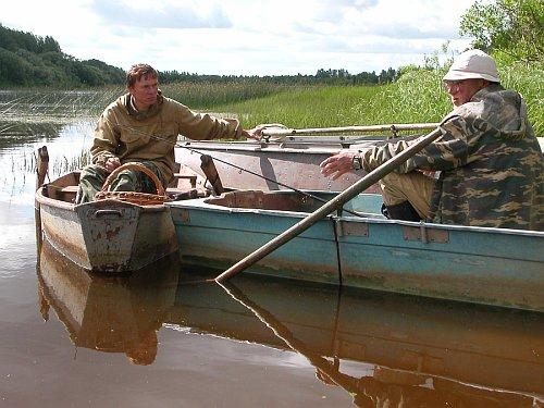 из разговора двух рыбаков