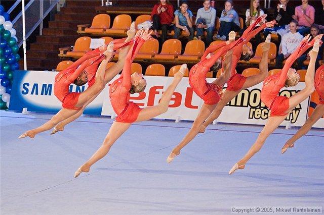 Успешное выступление донской гимнастки на международных соревнованиях.