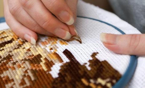 Схема вышивки крестом 'Чашка с