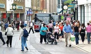 несколько улиц могут стать пешеходными