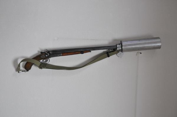 Как сделать глушитель на ружье 16 калибра в домашних условиях