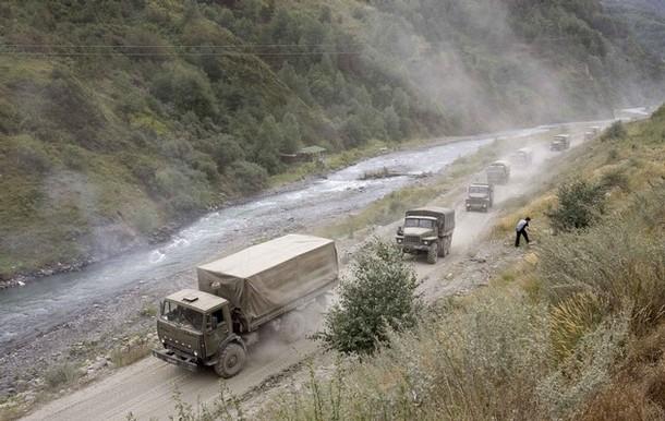 Военный «Урал» взорвали в Цумадинском районе