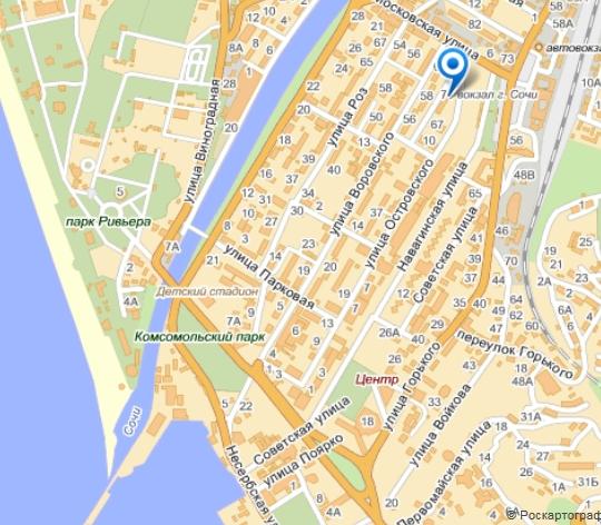 Яндекс карта схема сочи