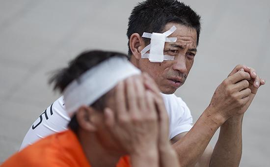 Количество жертв ипострадавших вТяньцзине возросло