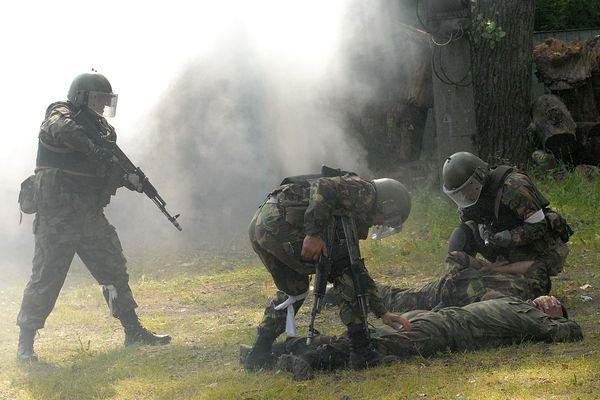 Силовики уничтожили пятерых боевиков во время боя