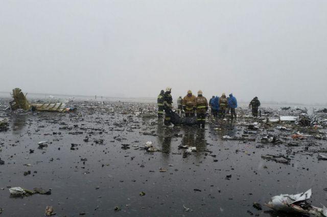 Предварительные результаты расследования крушения Boeing вРостове обнародуют до19апреля