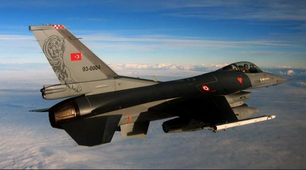 ВИраке ВВС Турции нанесли авиаудары попозициям курдов