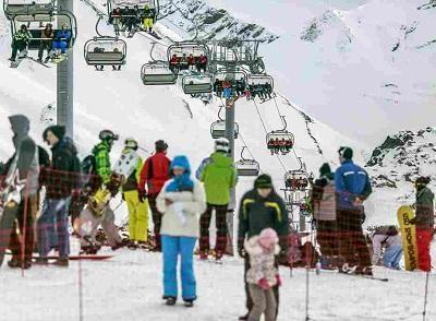 В Сочи завершился самый продолжительный горнолыжный сезон