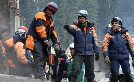 Все горняки иззагоревшейся шахты «Заречная» выведены наповерхность