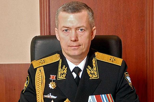 РИА Новости: Врио командующего Балтфлотом назначен вице-адмирал Александр Носатов