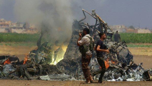 Военные подтвердили личности 3-х членов экипажа сбитого вСирии Ми-8