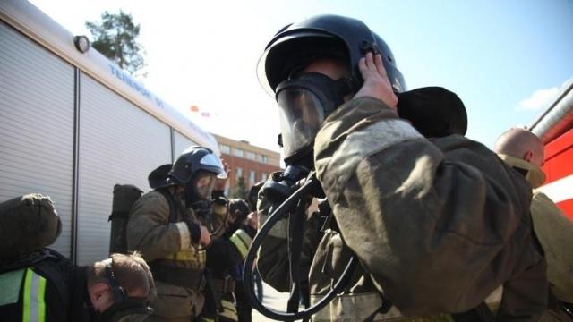 Врезультате сильного возгорания вПодмосковье погибли дети