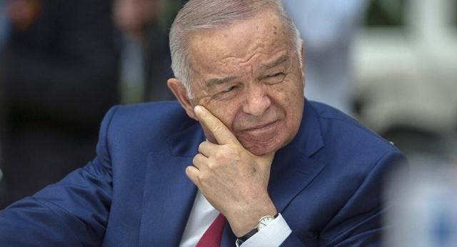 Президент Узбекистана Ислам Каримов находится настационарном лечении