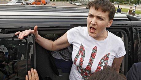 Надежда Савченко прокомментировала своё ДТП с нетрезвым водителем