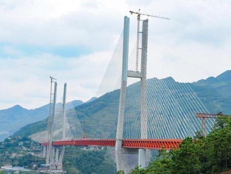 Дух захватывает: вКитайской народной республике официально открыли самый высокий мост вмире