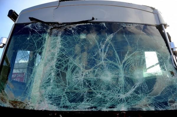 ВТуапсе вДТП сучастием 2-х автобусов ПАЗ пострадали 9 человек