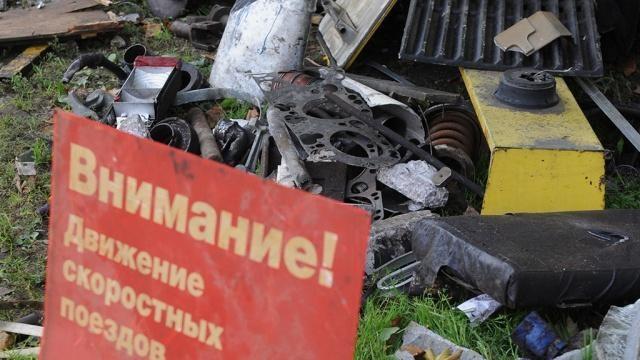 ВПодмосковье при столкновении машины сэлектричкой погибла женщина
