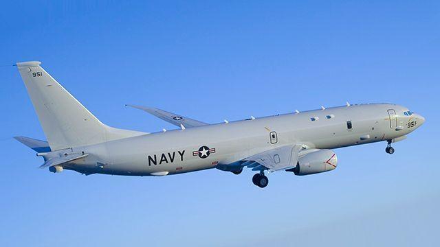 Самолет США приблизился кграницеРФ наЧерном море