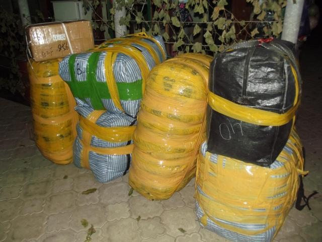 ВРостовской области задержаны 5 человек законтрабанду одежды на Украинское государство