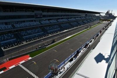 Гонки нарейсовых автобусах пройдут вСочи натрассе «Формулы-1»