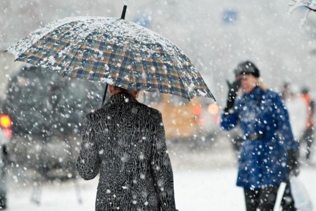 Обильный мокрый снег прогнозируют наКубани 2ноября