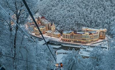 Сочинская «Роза Хутор» названа лучшим горнолыжным курортом РФ