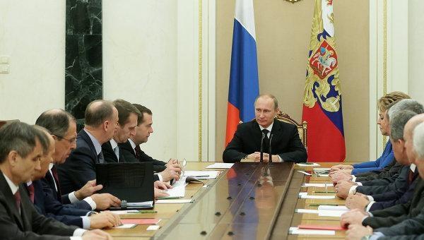 Путин подведет результаты года навстрече сминистрами