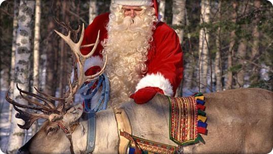 Санта-Клаус отправился дарить подарки детям повсей планете