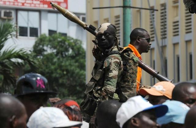 Военные подняли бунт в 3-х городах Кот-д'Ивуара