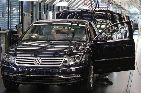 VW отзывает практически 50 тыс. авто в КНР из-за трудностей стормозами