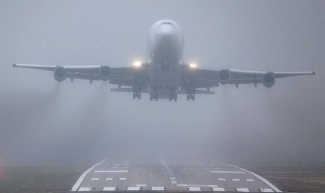Два самолёта из столицы вынуждено приземлились вМинеральных Водах
