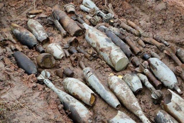 На береге вСочи отыскали 22 артиллерийских снаряда времен ВОВ