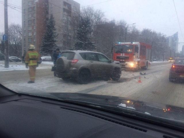 ВПетербурге вДТП смикроавтобусами пострадали девять человек