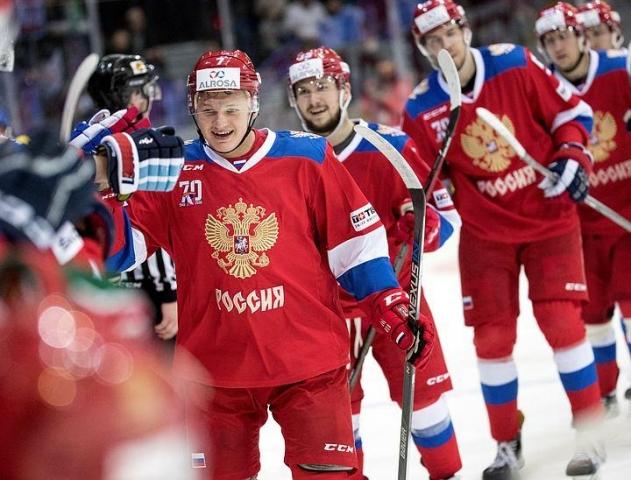 Хоккеисты сборной РФ преждевременно выиграли Еврохоккейтур, победив Чехию 4:2