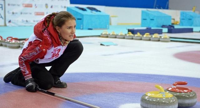 Керлингистки сборной РФ  впервый раз  вышли вфинал чемпионата мира