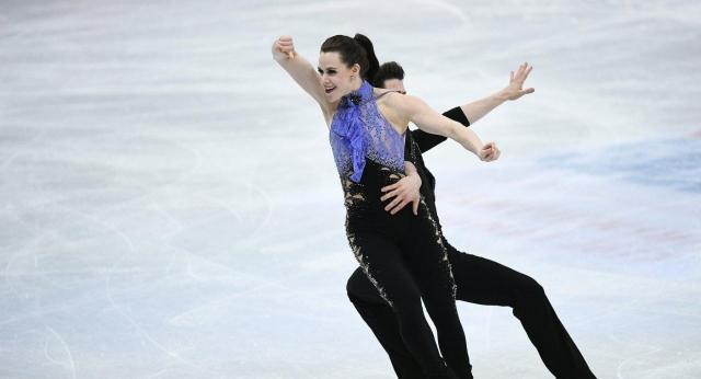 Канадцы Вирту иМойр выиграли золотоЧМ пофигурному катанию