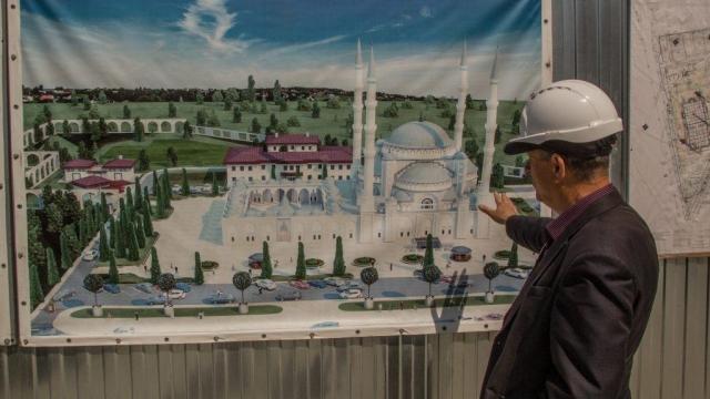 ВСимферополе заливают фундамент основной Соборной мечети