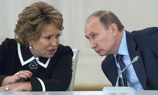 Путин обсудит борьбу скоррупцией сВолодиным иМатвиенко