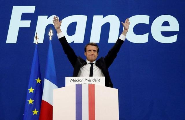 ВоФранции огласили заключительные результаты первого тура президентских вы ...