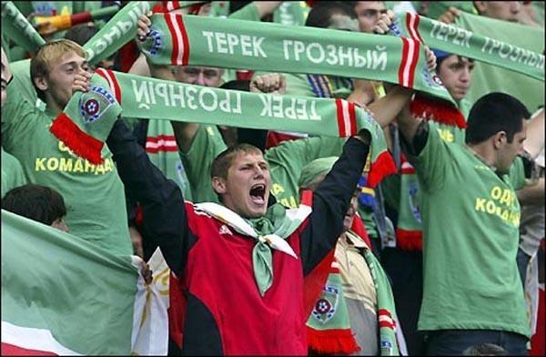 Грозненский «Терек» переименуют вчесть первого президента Чечни Ахмата Кадырова