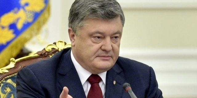 Порошенко объявил, что при отмене силовой операции вДонбассе Украина «останется беззащитной»