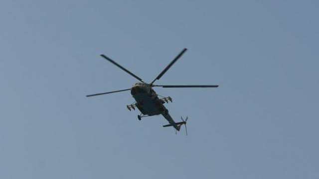 Вертолет совершил жесткую посадку вБурятии
