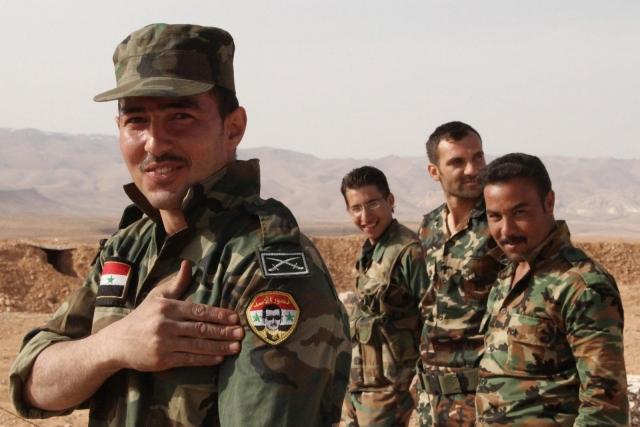 Сирийские войска выбили террористов из 2-х городов квостоку отРакки