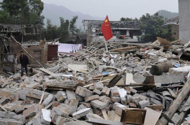 Число погибших землетрясения в«Поднебесной» выросло до 19 человек
